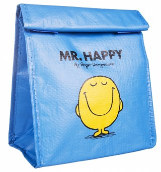 Mr Happy Insulated Lunch Bag