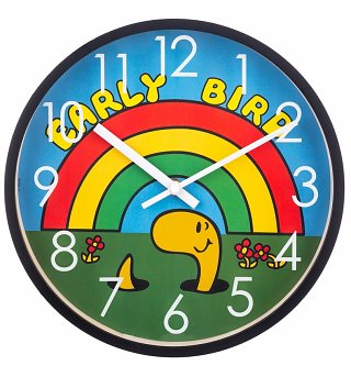 Mr Men Early Bird Clock