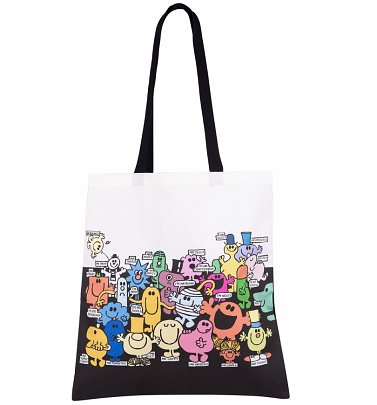 Mr Men Edge To Edge Print Premium Tote Bag