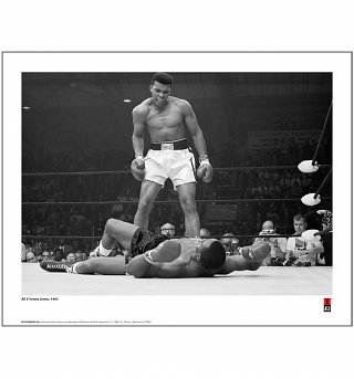 "Muhammad Ali First Minute, First Round Photographic 14"" x 11"" Art Print"