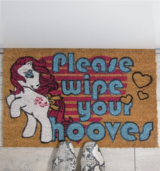 My Little Pony Retro Door Mat