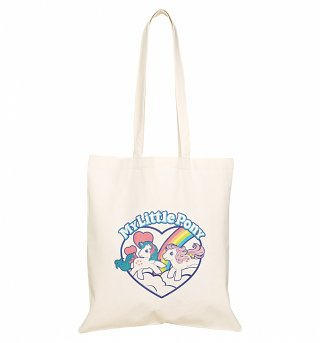 My Little Pony Retro Heart Tote Bag