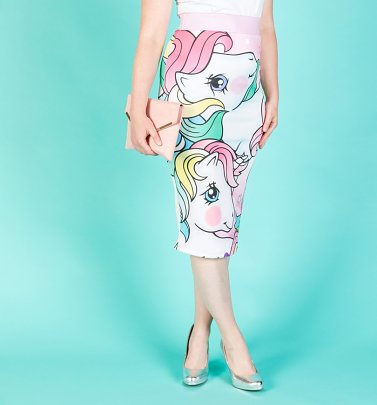 My Little Pony Retro Ponies Pencil Skirt from Wild Bangarang