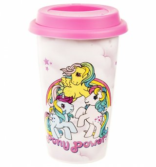 My Little Pony Retro Pony Power Travel Mug