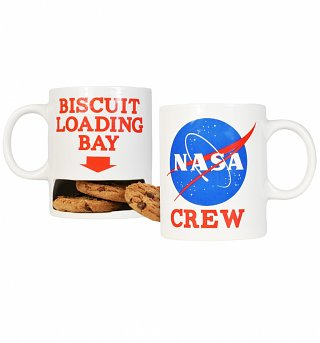 NASA Mug With Biscuit Holder