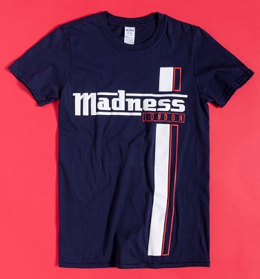 Navy Madness Stripes T-Shirt