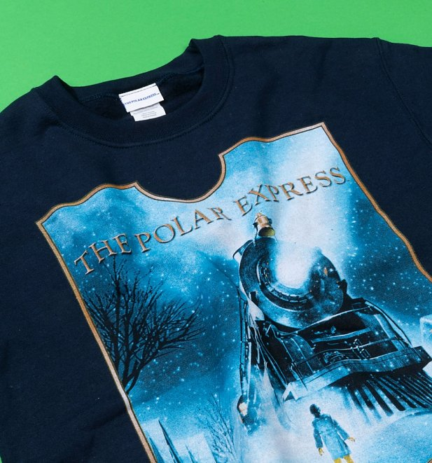 Navy Polar Express T-Shirt