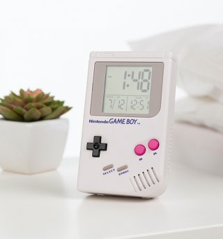 Nintendo Game Boy Digital Alarm Clock