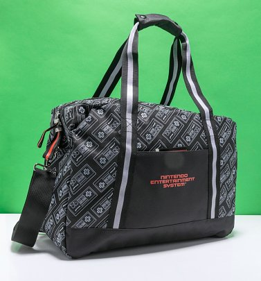 Nintendo NES Controller Print Overnight Bag from Difuzed