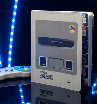 Nintendo SNES Console Notebook