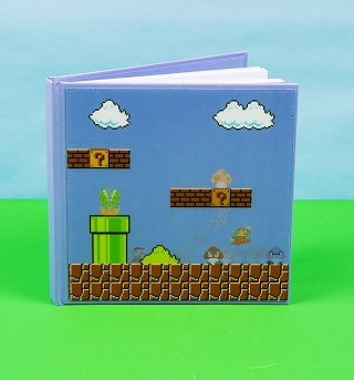 Nintendo Super Mario Brothers 3D Motion Notebook