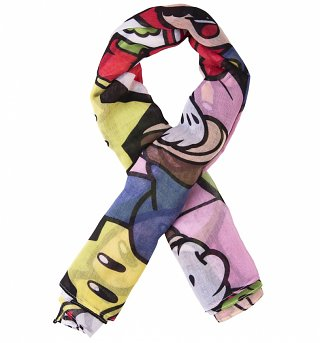 Nintendo Super Mario Brothers Characters Lightweight Scarf