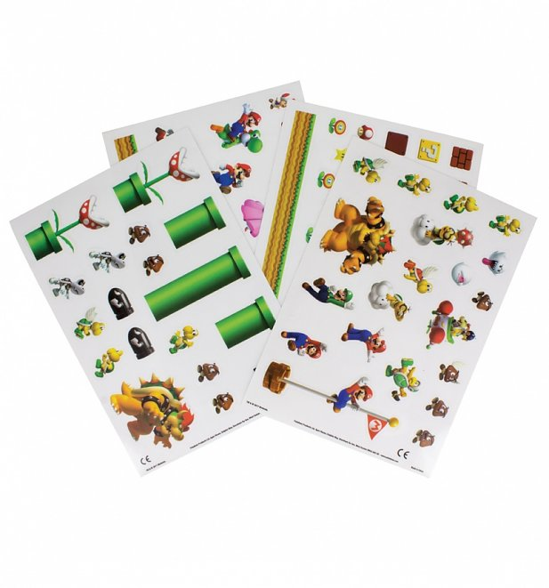 Nintendo Super Mario Brothers Gadget Decals