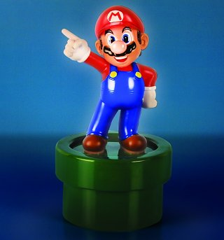 Nintendo Super Mario Brothers Mario 3D Light
