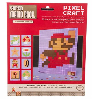 Nintendo Super Mario Brothers Pixel Craft Kit