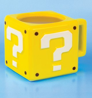 Nintendo Super Mario Brothers Question Block 3D Mug