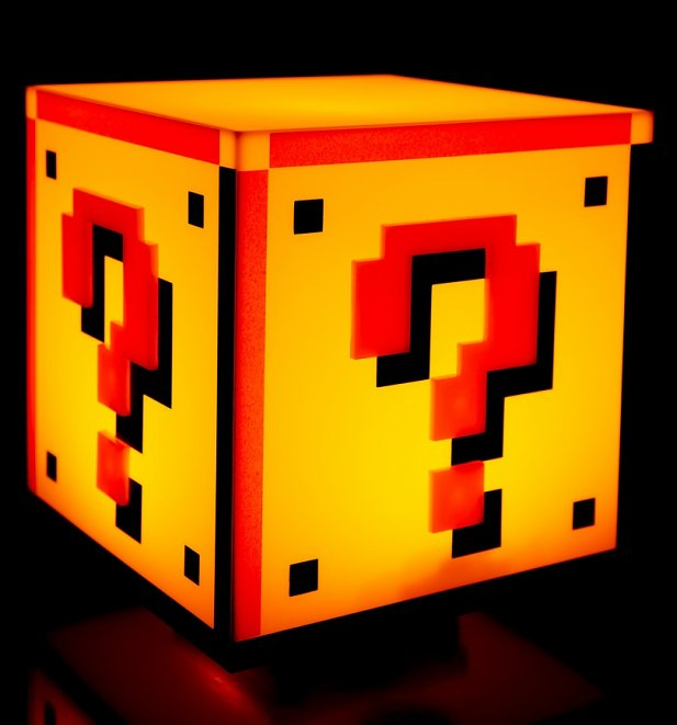 Nintendo Super Mario Brothers Question Block Light