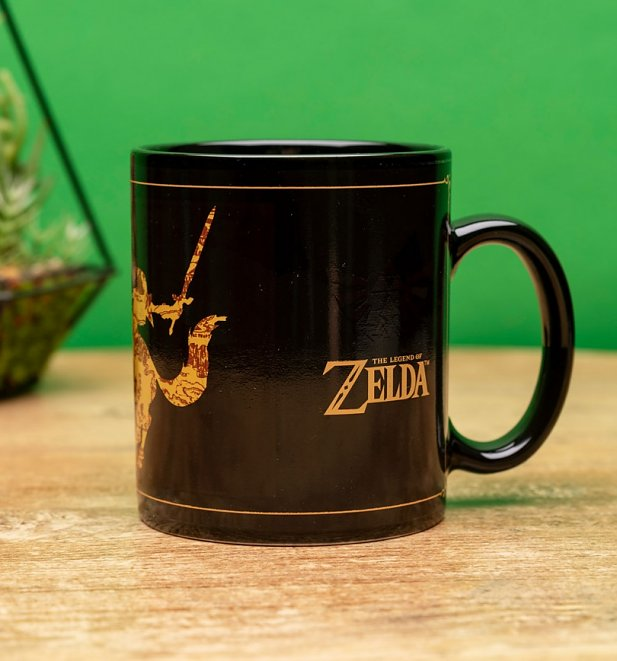 Nintendo The Legend of Zelda Heat Change Mug