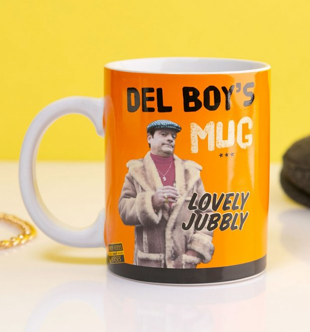 OFFICIAL ONLY FOOLS AND HORSES DEL BOY/'S MUG AND SOCK SET NEW IN GIFT BOX