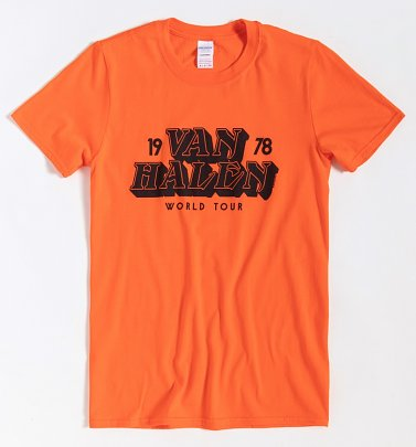 Orange Van Halen T-Shirt