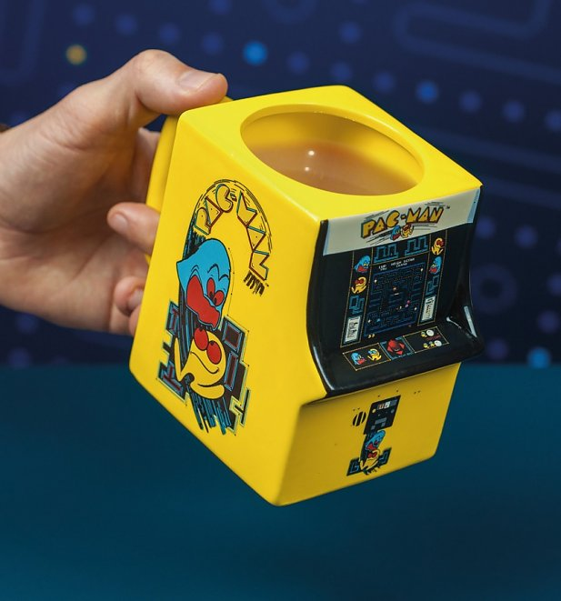 Pac-Man 3D Shaped Mug