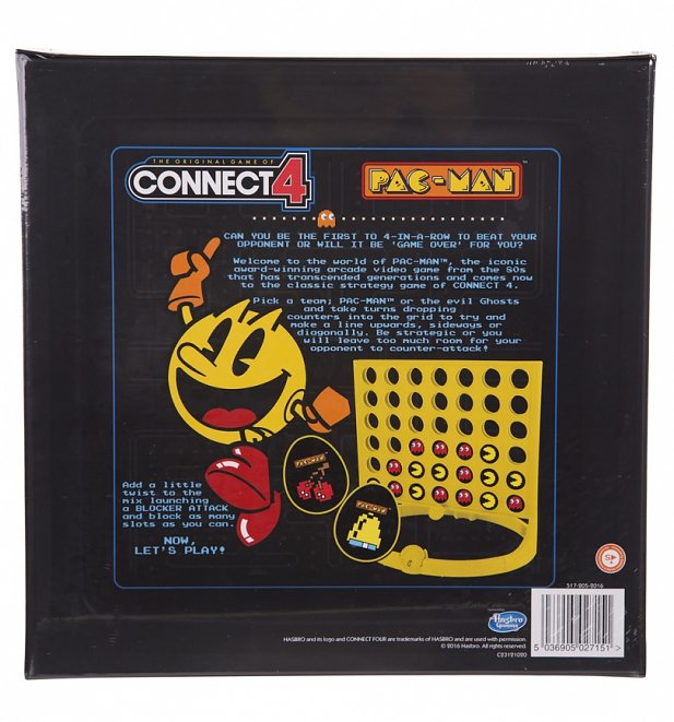 Pac-Man Connect 4