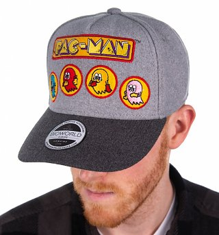 Pac-Man Curved Bill Cap