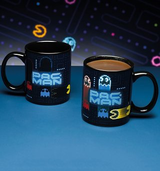 Pac-Man Neon Heat Change Mug