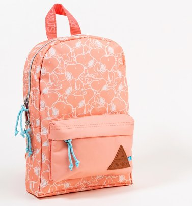 Peach Snoopy Mini Backpack