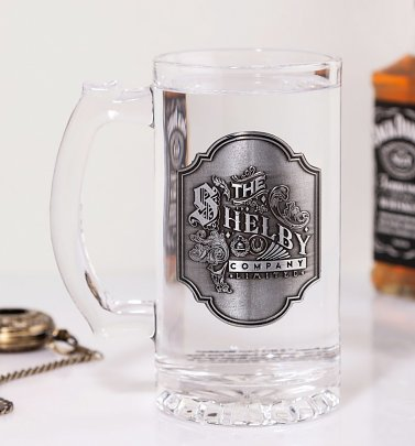 Peaky Blinders Glass Stein