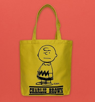 Peanuts I Need All The Friends I Can Get Charlie Brown Canvas Tote Bag