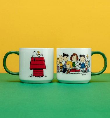 Peanuts Snoopy And Gang Mug