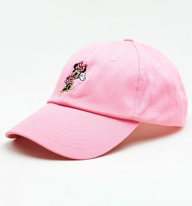 Pink Disney Minnie Mouse Baseball Cap from Hype