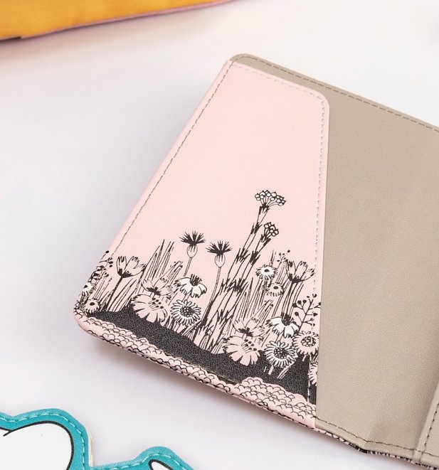 Pink Moomin Love Passport Holder from House Of Disaster