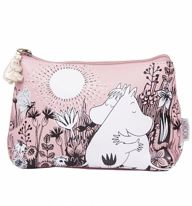 Pink Moomins Love Make Up Bag from House of Disaster