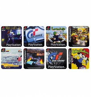 PlayStation Game Set Of 4 Coasters