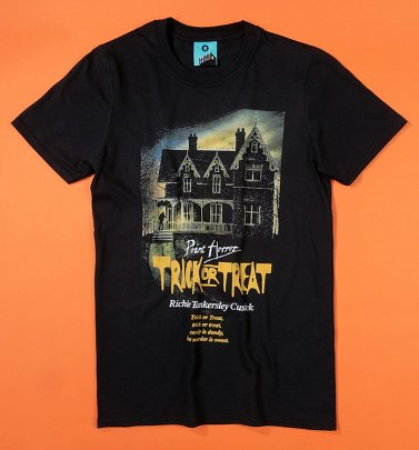 Point Horror Trick Or Treat Black T-Shirt
