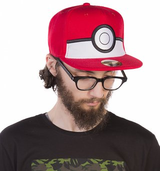 Pokemon Pokeball Baseball Cap