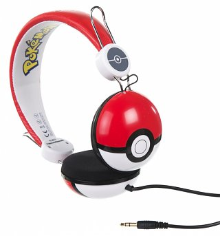 Pokemon Pokeball Headphones