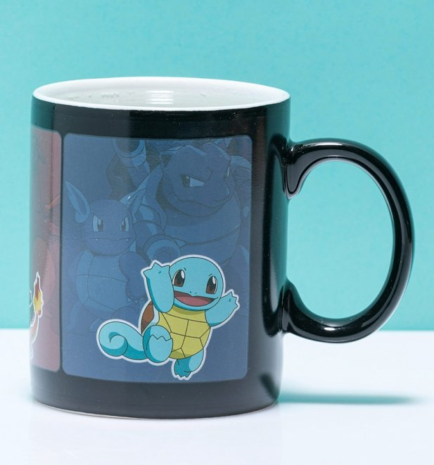 Pokemon Starter Heat Change Mug