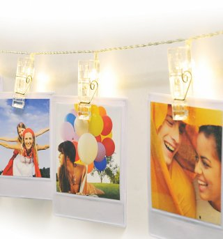Polaroid Peg String Lights