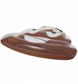 Poop Inflatable Pool Float