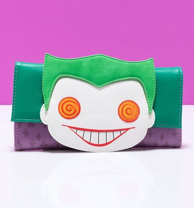 Pop by Loungefly DC Comics Joker Wallet