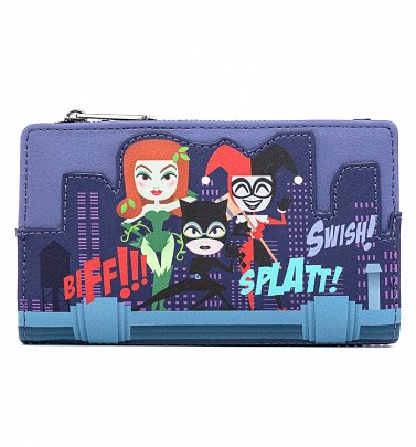 Pop by Loungefly DC Comics Ladies of DC Wallet