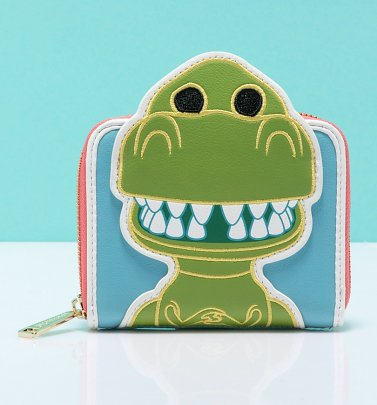 Pop by Loungefly Disney Pixar Toy Story Rex Zip Around Wallet