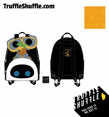 Pop by Loungefly Pixar WALL-E Eve Boot Earth Day Cosplay Mini Backpack