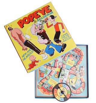 Popeye The Sailorman Board Game
