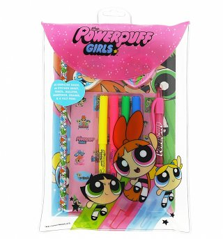 Powerpuff Girls Filled Stationery Wallet