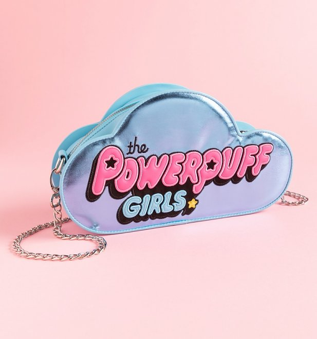 Powerpuff Girls Metallic Logo Cross Body Bag