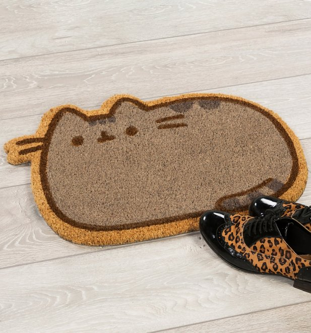 Pusheen Door Mat